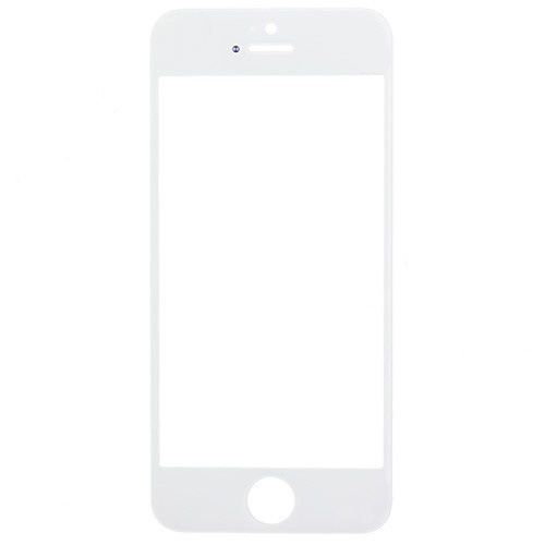 Glass Lens for iPhone 5S White