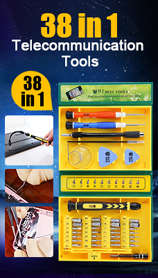 38 in 1 Packaging High Quality Precision Telecommunication Tools(8921)