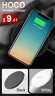 HOCO CW6 Qi Wireless Charger White