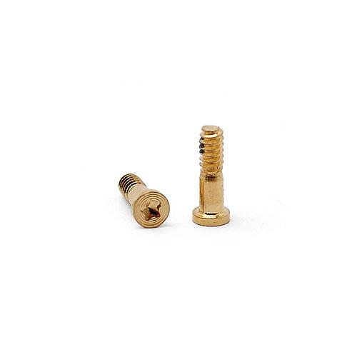 Bottom 2 Screws for iPhone 5S Golden