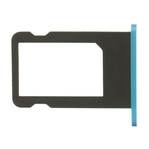 SIM Card Tray for iPhone 5c BLUE