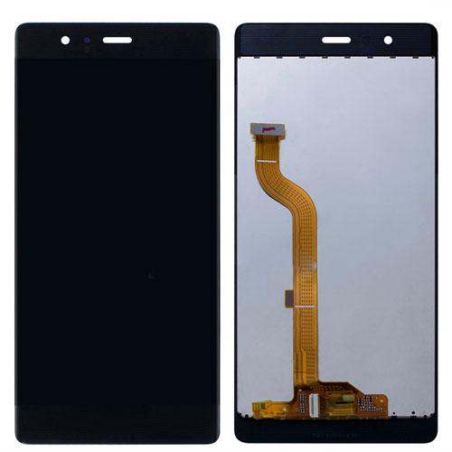 Mobile Phone LCD Screen Replacement for Huawei Ascend P9 Black
