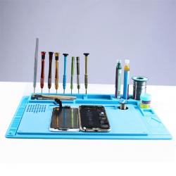 WL Integrated Electronic Maintenance Plateform Table Pad for Repair(Random Color)