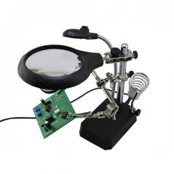 BST-16129C Magnifier with auxiliary clip
