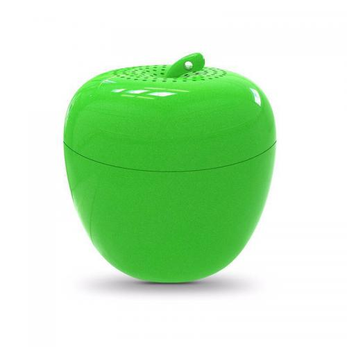 Christmas Colorful Apple Bluetooth Speaker Green