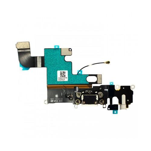 Charging Port and Headphone Jack Flex Cable for iPhone 6 4.7-inch White